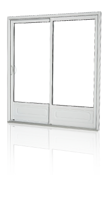 Pvc decko hybride jardin fen tres lite elite windows for Porte jardin pvc